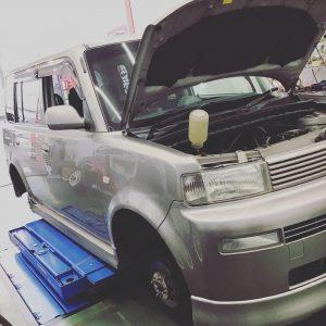 津市車検 車検安い 小林石油 トヨタ TOYOTA bB