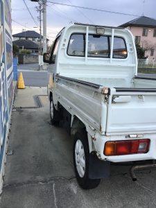 津市車検 車検安い 1日車検 小林石油 ホンダ アクティトラック